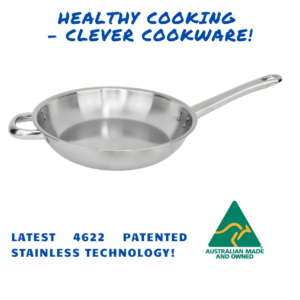 28cm 2mm Satay Fry Pan – Riveted Double Handles (long and short)