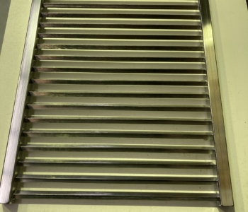 304 Stainless Steel Diamond Grills – Large 396mm*486mm Suit 4 Burner BBQ